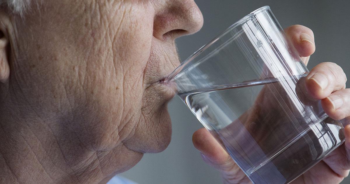 Desidratação em idosos