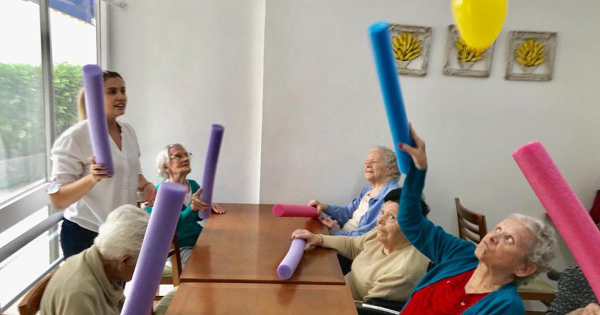 idosos com mobilidade reduzida